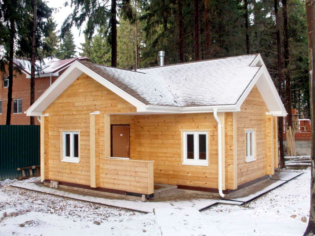 Как построить баню дом