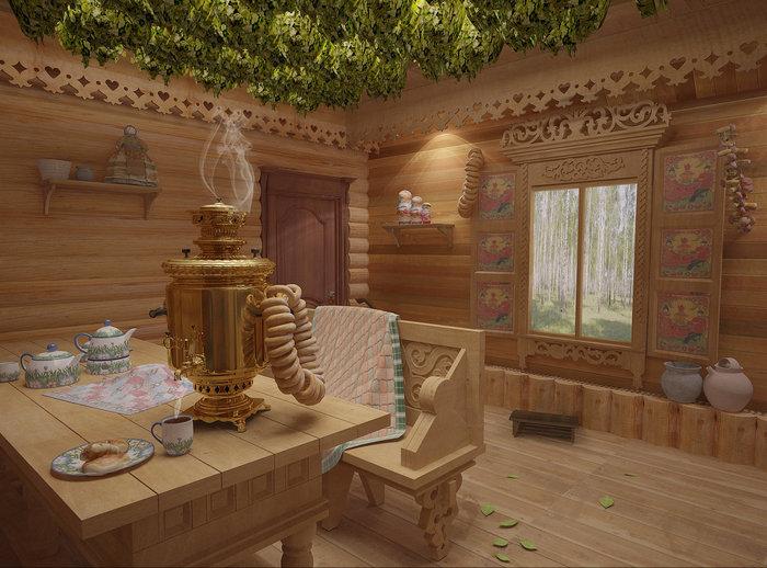 Интерьер бани с парилкой внутри фото